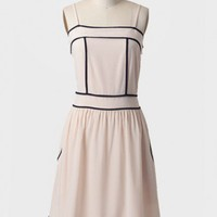 windmill point dress in ivory at ShopRuche.com