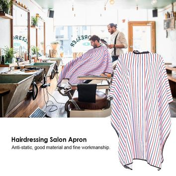Salon Apron Hairdressing Gown Waterproof Cloth Haircutting Hair Dyeing Cape Anti-static Hair Styling Tool for Barber