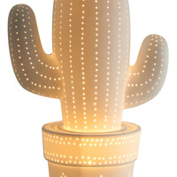 Cactus Ceramic LED Lamp