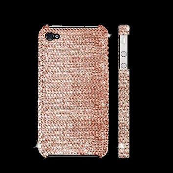 iPhone 5s and iPhone 5 Swarovski Elements Crystal Case in Champagne Gold - Christmas/Holiday 2013