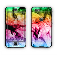 The Neon Glowing Fumes Apple iPhone 6 LifeProof Nuud Case Skin Set