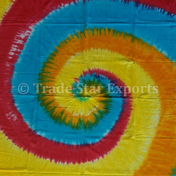 Tie Dye Wall Tapestries,Tapestry wall hanging, Hippie  Psychedelic tapestry, Picnic Blanket, Room Decor, Bed cover, Wall Decor