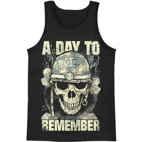 A Day To Remember Men's  GTFOI Mens Tank Black