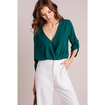 Holly Surplice Blouse
