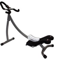 Crazy Abs Abdominal Exercise Home Gym, Black