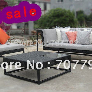 2017 Hot sale Urban new style tables and chairs,outdoor rattan furniture  Spot sale