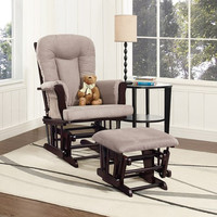Raegan Glider Rocker and Ottoman Set