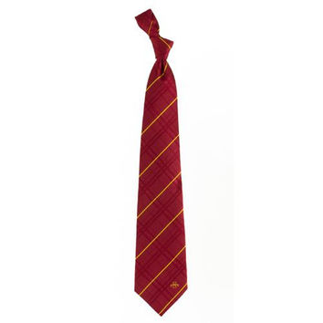 Iowa State Cyclones NCAA Oxford Woven Mens Tie