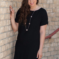 Black Around The Town Dress