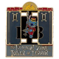Twilight Zone Tower of Terror Stitch Pin | Disney Store