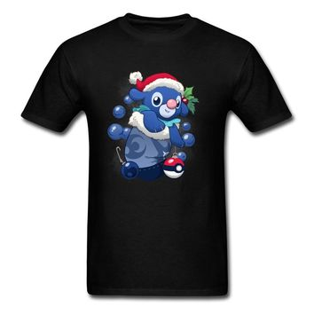 Lasting Charm Bubbly Stocking Stuffer Sports T-shirt Men Christmas T Shirt Pokemon Kawaii Tshirt Xmas Boyfriend Gift