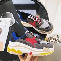2018 Original Balenciaga Woman Men Fashion Breathable Sneakers Running Shoes