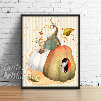 Printable Pumpkin Decor, Thanksgiving Decor, Rustic Farmhouse, Farmhouse,  Pumpkins, Autumn Decor, Pumpkin Art, Rustic Fall Decor Print