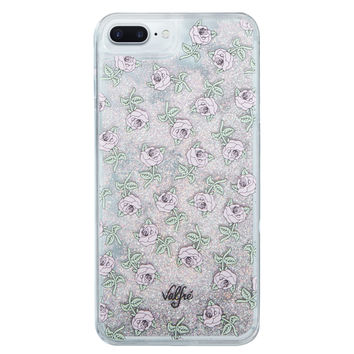 Rose Glitter iPhone 7+ Case