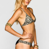 Rvca Swazi Bikini Bottoms Black  In Sizes