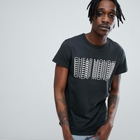Cheap Monday Unity Repeat Logo T-Shirt at asos.com