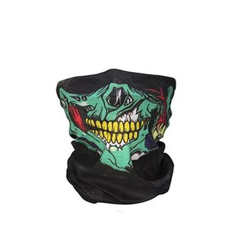 Skull Masks Ghost Face Windproof Beanie Hat Outdoor Sports Mask Caps Motorcycle Bicycle Bike Bonnet Scarf Halloween party mask
