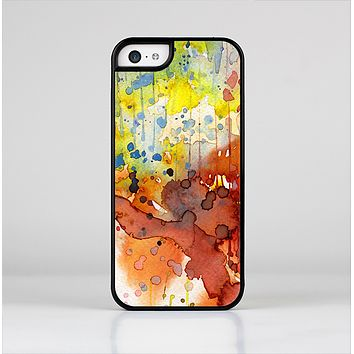 The WaterColor Grunge Setting Skin-Sert for the Apple iPhone 5c Skin-Sert Case