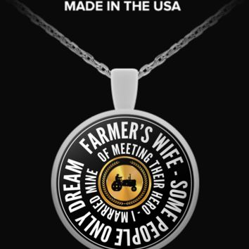 I Married My Hero - Necklace marriedmyheronecklace
