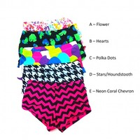 Trendy Print Shorts - XSC - Dancewear