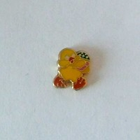 Chick with Egg Floating Charm