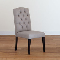 Grey Tufted Chair, Set of 2 | Dining Room Furniture| Furniture | World Market
