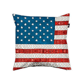 USA Pillow cover by Bianca Green | Envelop