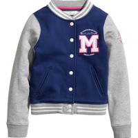 H&M - Baseball Jacket - Dark