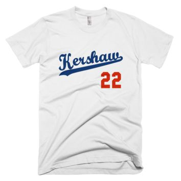 Clayton Kershaw #22 Los Angeles Dodgers T-Shirt