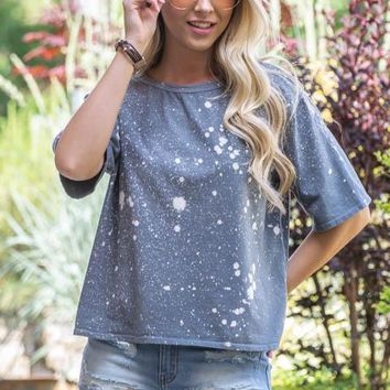 Night Sky Gaze Bleach Top