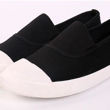 new Women Flat Fashion Canvas Shoes size 75859