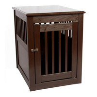 Fortress End Table Pet Crate