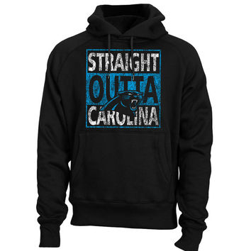 Carolina Panthers Hoodie Cam Newton Jersey Straight Outta Carolina Shirt Panthers Men Pullover Sweatshirt