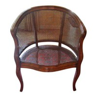 Pre-owned Louis XV Barrel Chair