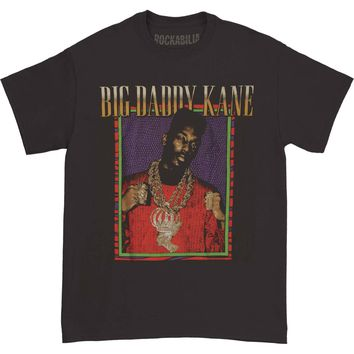 Big Daddy Kane Men's  Half Stepping T-shirt Black