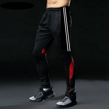 Vertvie 2018 Soccer Training Pants Men With Pocket Football Trousers Jogging Fitness Workout Running Sport Pants Plus Size Pant