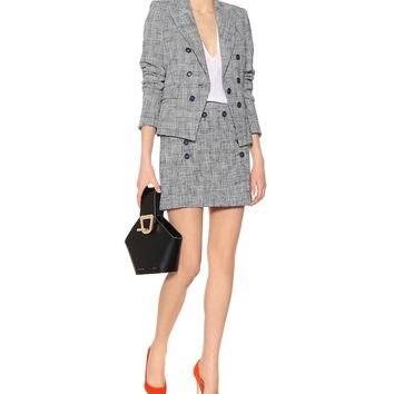 Diego checked tweed blazer