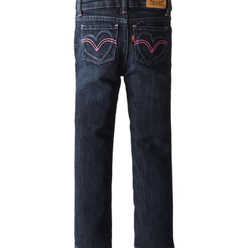 Levi's® Kids Jami Heart Slim Straight (Toddler)