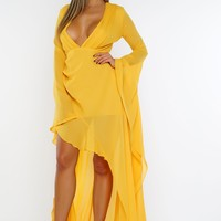 Zayla Dress - Yellow