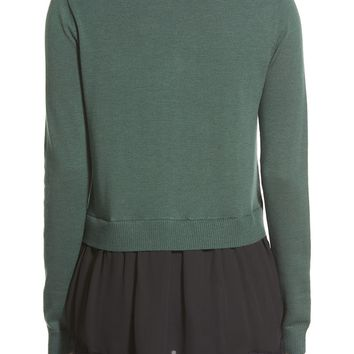 Chelsea28 Mixed Media Sweater | Nordstrom