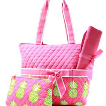 Pineapple Diaper Bag - 2 Color Choices