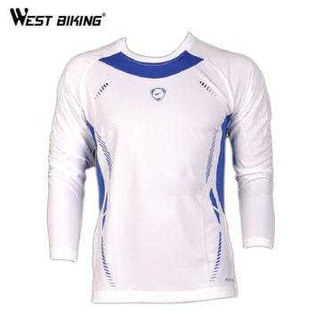 Long Sleeve Sports Cycling Clothing 5 Colors Option Breathable Men's Shirt Road Mountain Bike Wearing Cycling Jersey