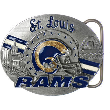 NFL ST. LOUIS RAMS Belt Buckle - Limited Edition