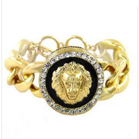 fashion jewelry  Lion Crystal Lionhead for march