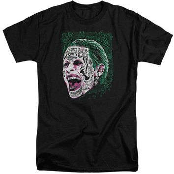 ac spbest Suicide Squad - Prince Portrait Short Sleeve Adult Tall