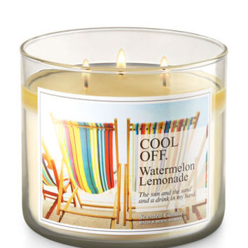 Cool Off - Watermelon Lemonade 3-Wick Candle | Bath And Body Works