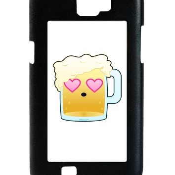 Cute Infatuated Beer Galaxy Note 2 Case  by TooLoud