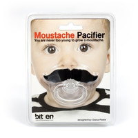 Moustache Pacifier | Humorous Baby Accessory