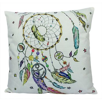 Dream Catcher | Pillow Cover | Throw Pillow | Gypsy decor | Home Decor | Boho Dreamcatcher | Ocean Dream Catcher | Sweet Dream Pillow | Gift