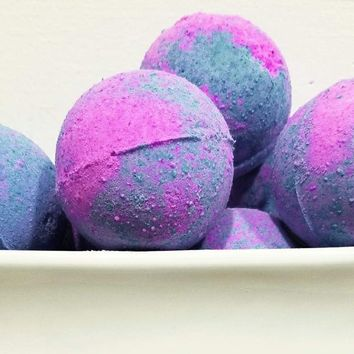 Cotton Candy Carnival Bath Bombs